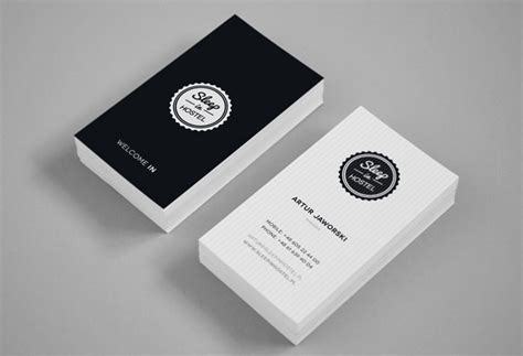 who designed the card 30 best business card design for your inspiration