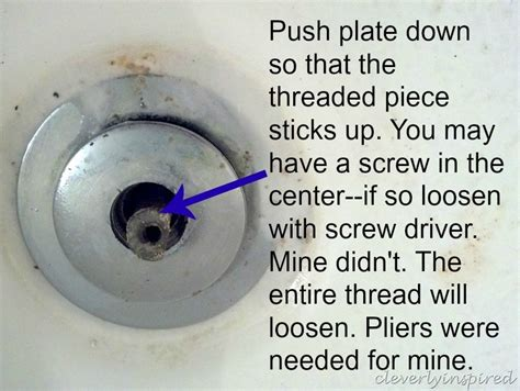 how to unscrew a bathtub stopper how to remove bathtub drain how to remove a tub drain