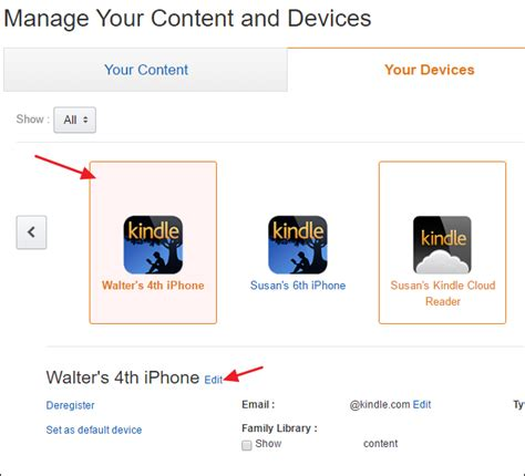 how to remove kindle devices from your account books how to rename and remove kindle devices on your account