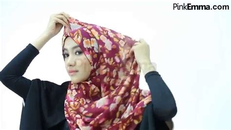 youtube tutorial hijab pasmina syar i tutorial hijab syar i dengan pashmina floral youtube