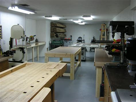 S Basement Woodshop Shop Tour The Wood Whisperer