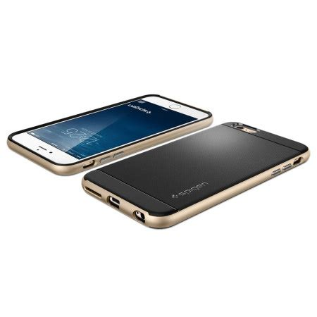 Spigen Hardcase For Iphone 6s Plus 6s Gold spigen neo hybrid iphone 6s plus 6 plus chagne gold