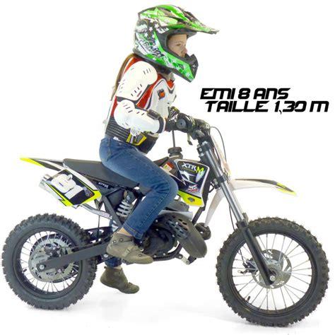 d motocross une vraie moto cross 50cc pour enfant d 233 butant a prix