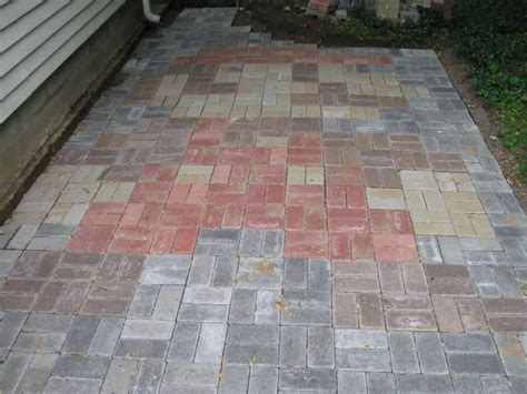 mario bros patio uses 500 bricks pic global