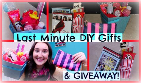 gifts for 20 year olds last minute last minute diy gifts giveaway lovenector13