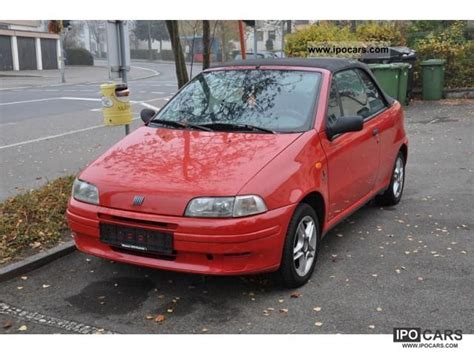 fiat punto 1997 1997 fiat punto cabrio car photo and specs