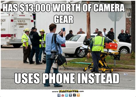 Photography Meme - faith filled humor reminding everyone to take time to