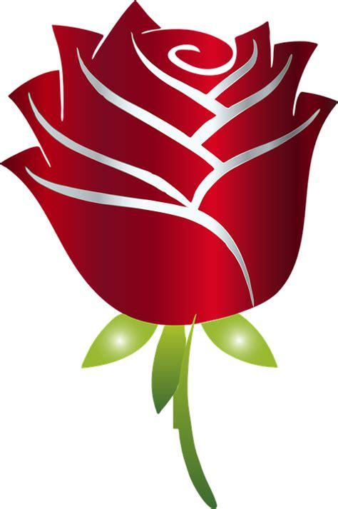 clipart fiore immagine vettoriale gratis stilizzato fiore