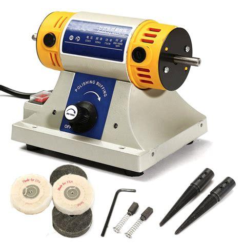 bench polishing machine 220v mini polishing machine for dental jewelry motor lathe