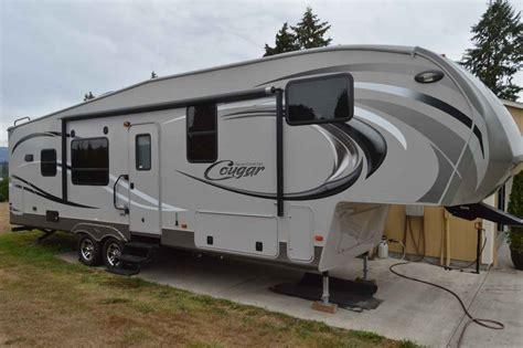 keystone cougar high country fifth wheeland travel trailer 2012 used keystone cougar high country 299rks fifth wheel