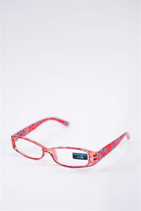 cynthia rowley reading glasses 1 5 magnification from new