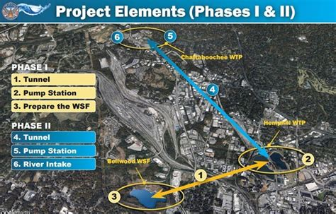 Atlanta Water Shed by Westside Reservoir Park Plan Inches Forward With 280