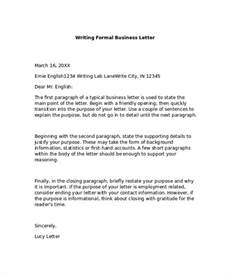 formal business letter format 8 examples in pdf word