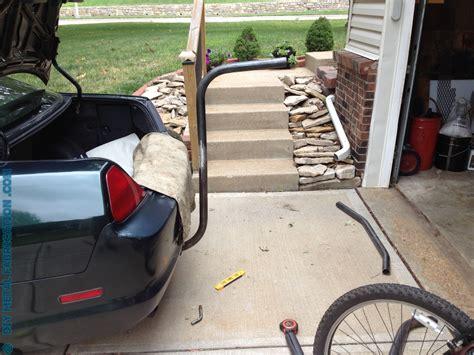 Diy Trailer Hitch Bike Rack by How To Build Receiver Hitch Bike Rack Diy Metal