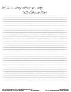 Cursive Writing Paper Template by Cursive Writing Paper Template