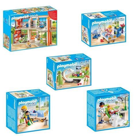Playmobil Pack L H 244 Pital P 233 Diatrique 1 Achat Vente