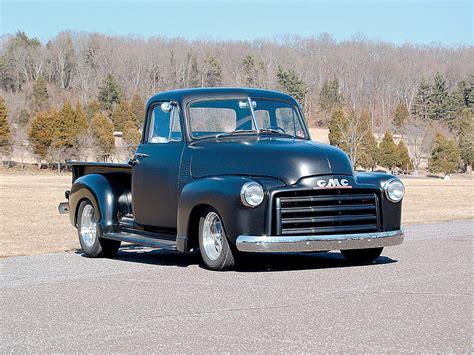 classic gmc 1948 gmc five window truck rod network