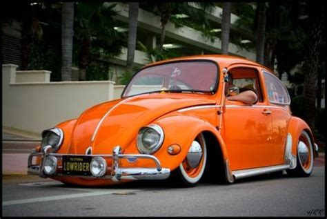orange volkswagen beetle vw beetle quot orange lowrider quot vw beetles pinterest vw