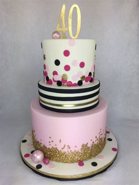 kate spade inspired  birthday cake  lettherebecakecom pearland houston cakes