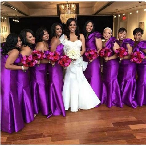 bridal train dresses and styles in nigeria who should be on your bridal train