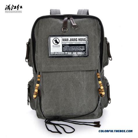 Rectangular Bag cheap new style vertical rectangular canvas bag backpack