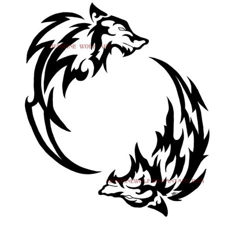 wolf circle by ikaikadesign on deviantart