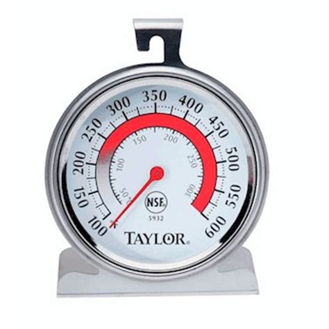 Termometer Oven Analog 300 Derajat Celcius 5932 oven grill analog thermometer with large fase and dual scale from cole parmer