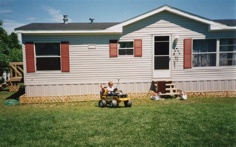 backyard mobile home mobile home estate garden my mobile home makeover