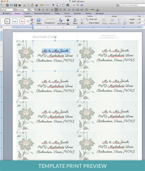 39 stunning template designs for address labels thogati 39 stunning template designs for address labels thogati