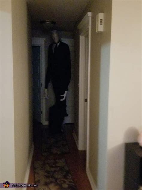 slender man adult halloween costume photo