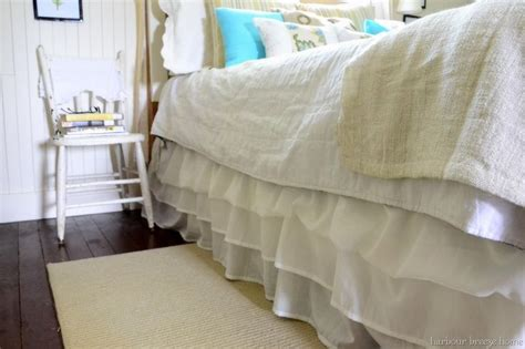 dust ruffle gwinner tailored bed no sew ruffled bedskirt tutorial sheets awesome and the o jays