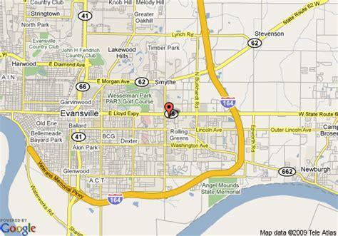 map of evansville indiana welchen ruf hat das hotel evansville days inn east in