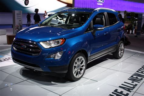 New Ford 2018 Ecosport by 2018 Ford Ecosport Going To The United States Carbuzz Info
