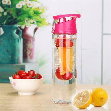 Botol Tritan Fruit Juice 2nd Tritan portable sport plastic infuser bottle bpa free water bottle infuser fruit infuser water bottle