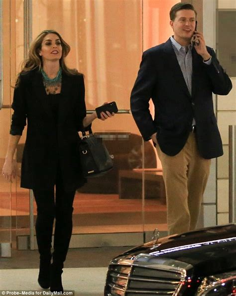 hope hicks golf trump berated hope hicks after her testimony daily