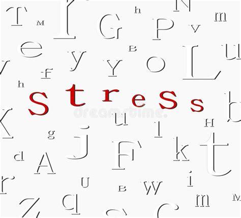 words that contain the letters alphabet stress background stock illustration 1733
