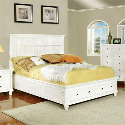 Bed Frame Styles by Solid Wood Willow Creek Cottage Style Bed Frame Set Ebay