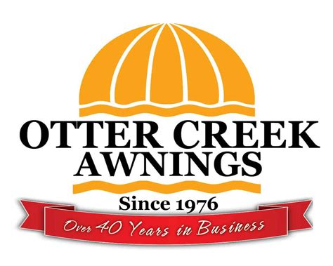 awning logo meet otter creek awnings team local vermont owned business