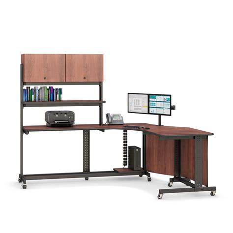 Corner Office Desk With Filing Cabinets Afcindustries Com Corner Desk With Filing Cabinet