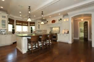 Bar Chairs For Kitchen Island by Kitchen Island With Bar Stools Hooked On Houses