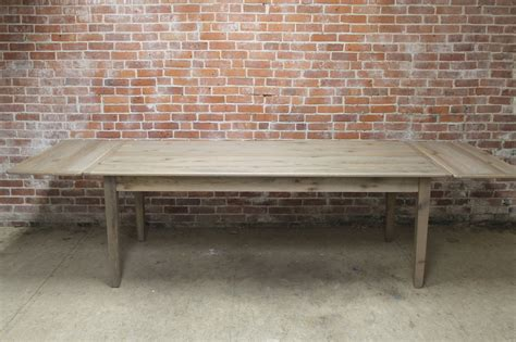 farmhouse table with extensions driftwood farm table with extensions ecustomfinishes