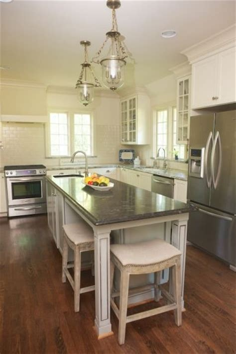 narrow kitchen with island 25 best ideas about narrow kitchen island on