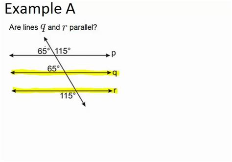 Parallel and Skew Lines | CK-12 Foundation Line Geometry Example