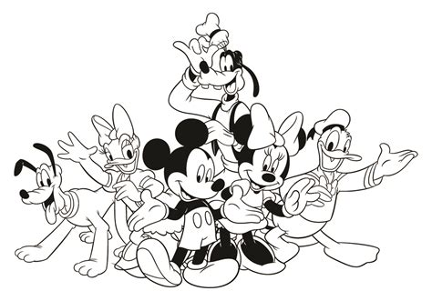 disney mickey s typing adventure coloring page disney family