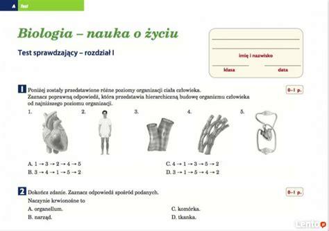test biologia puls życia matematyka z plusem 7 testy