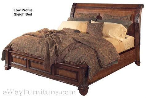 Low Profile Bedroom Sets by Vineyard Sleigh Low Profile Bed Bedroom Set