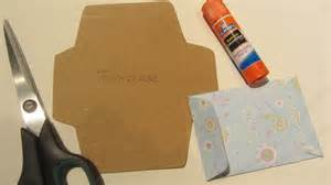 how to make a gift card envelope with scrapbook paper
