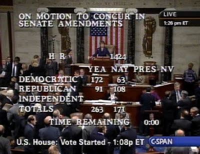 House Roll Call Votes by We Saw That H R 1424 House Roll Call Vote On