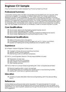 engineer cv sle myperfectcv