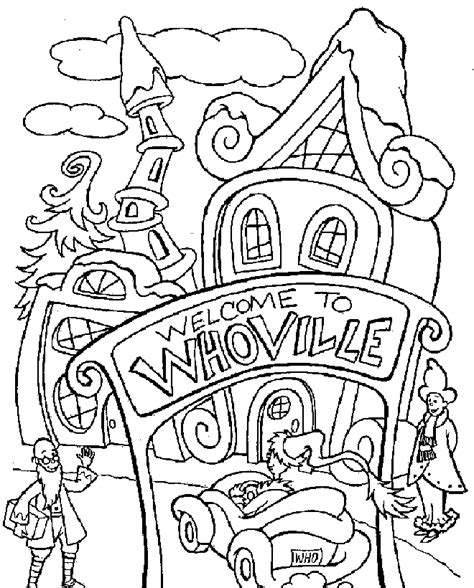 grinch coloring pages for adults whoville characters coloring pages coloring home
